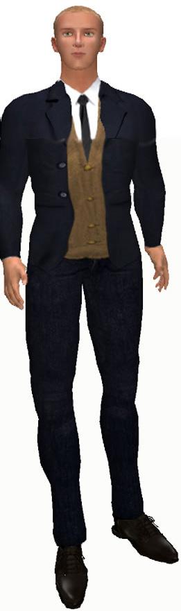 Office worker man
