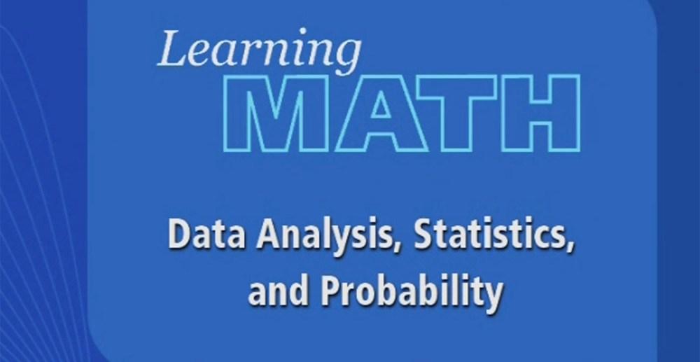 medium resolution of Learning Math: Data Analysis