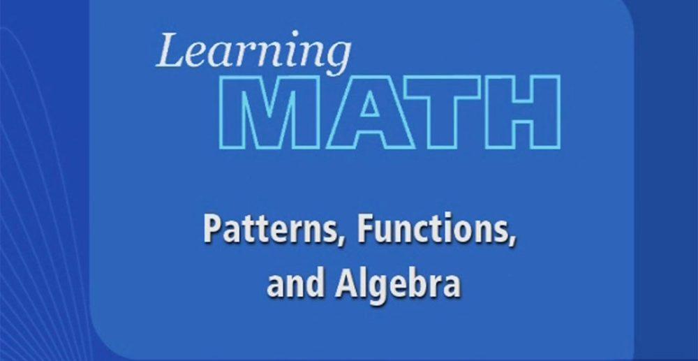 medium resolution of Learning Math: Patterns