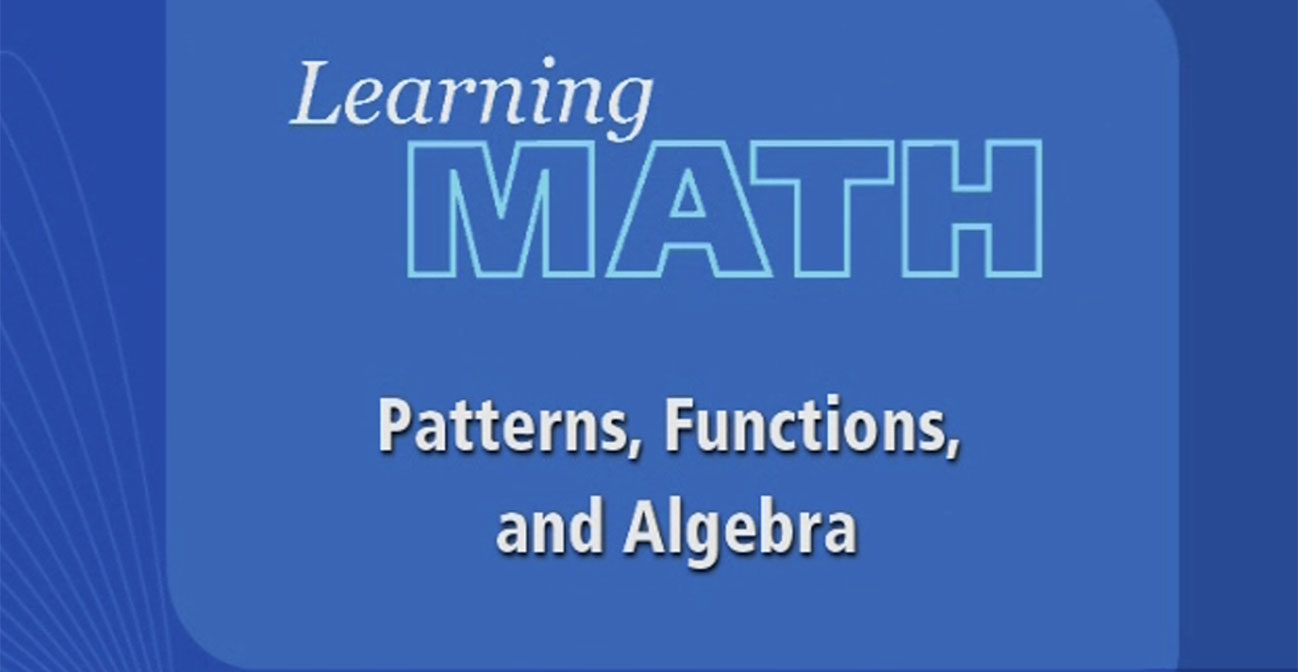 hight resolution of Learning Math: Patterns