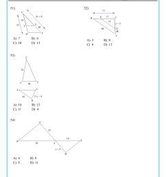 Grade 10 mathematics similar triangles worksheet [ 1754 x 1240 Pixel ]