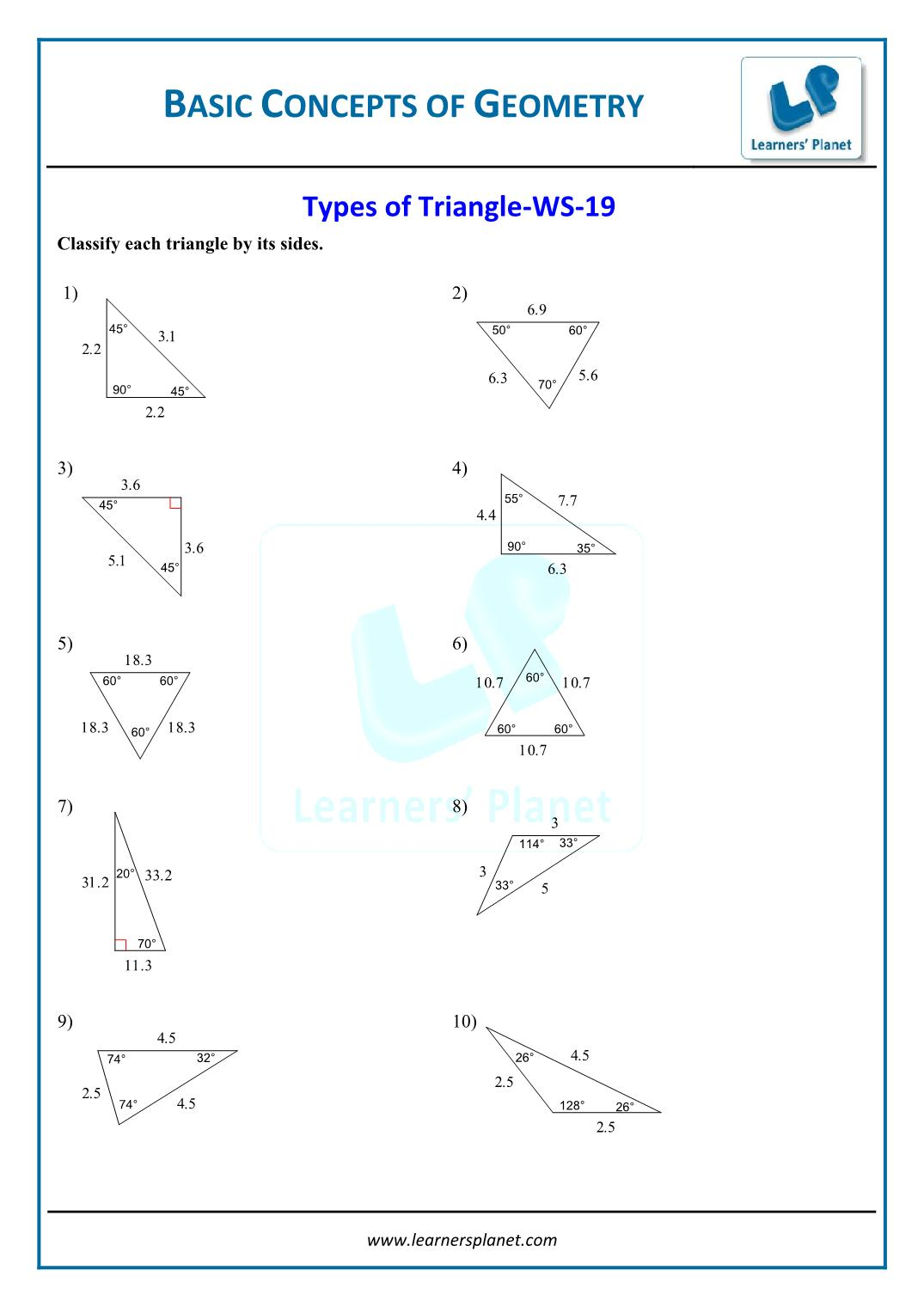 hight resolution of 6th CBSE worksheet fundamental concepts of geometry