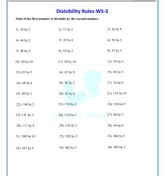 Online math divisibility rules test paper for 6th class cbse students [ 1521 x 1075 Pixel ]