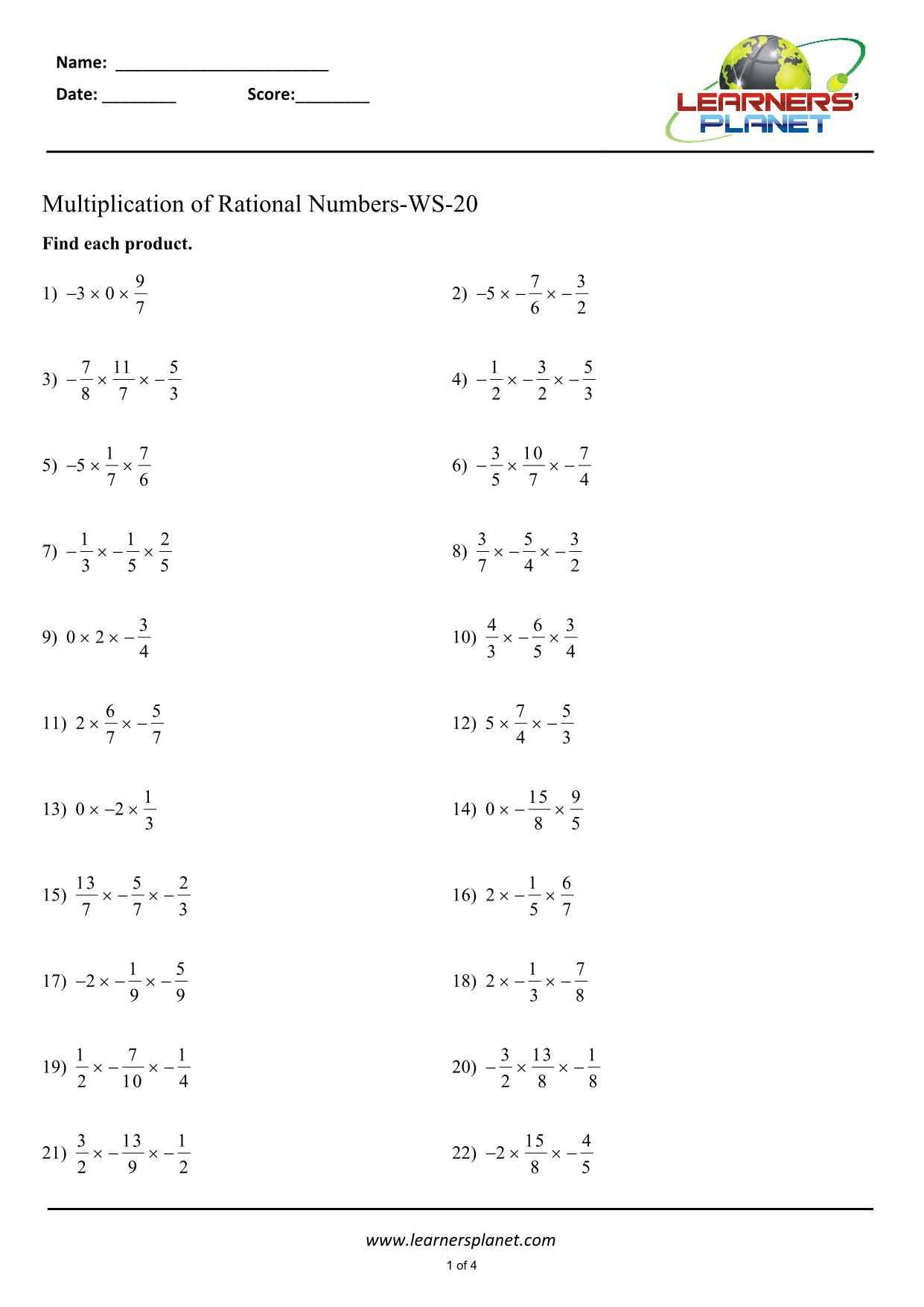 hight resolution of Fractions worksheet class 7 math NCERT Math study material Fractions  worksheet class 7 math NCERT Math study material