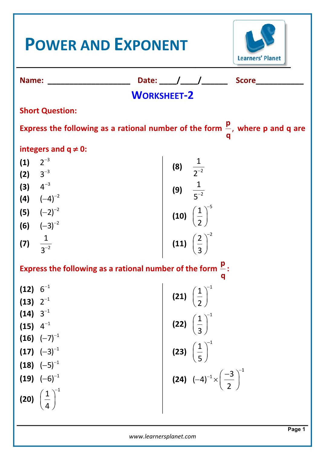 hight resolution of Power-and-Exponent-Workbook-3