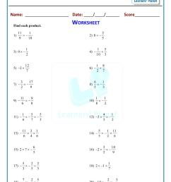 Class 8 math multiplication of rational numbers worksheet [ 1521 x 1075 Pixel ]