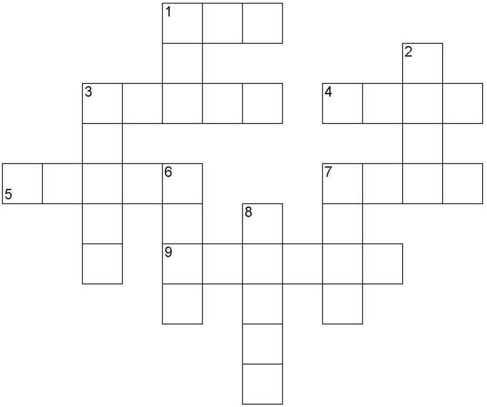 medium resolution of Animal sounds crossword puzzle worksheet pdf download