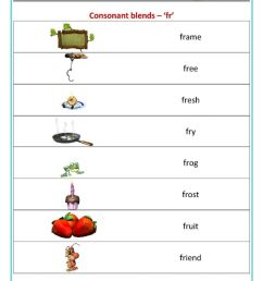 Consonant blend worksheets for kids [ 1200 x 848 Pixel ]