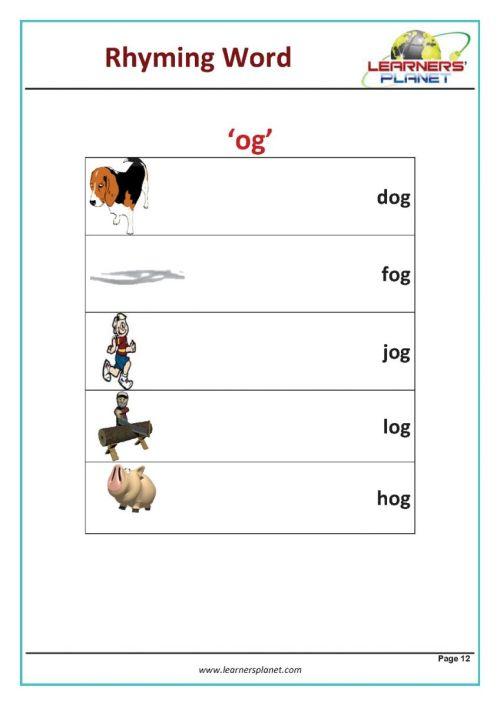 small resolution of Free printable rhymes rhyming words worksheets for preschool