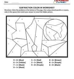 Subtraction worksheets for 1st grade kids [ 1200 x 849 Pixel ]