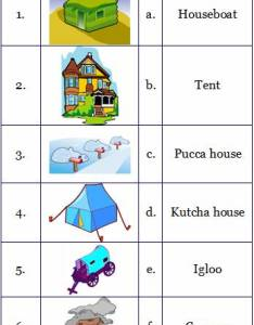 Fill in the blanks also housing and clothing worksheets for grade rh learnersplanet