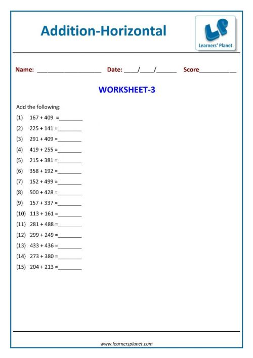 small resolution of Math addition printable worksheets online for class 2 kids tutorialsMath  addition printable worksheets online for class 2 kids tutorials