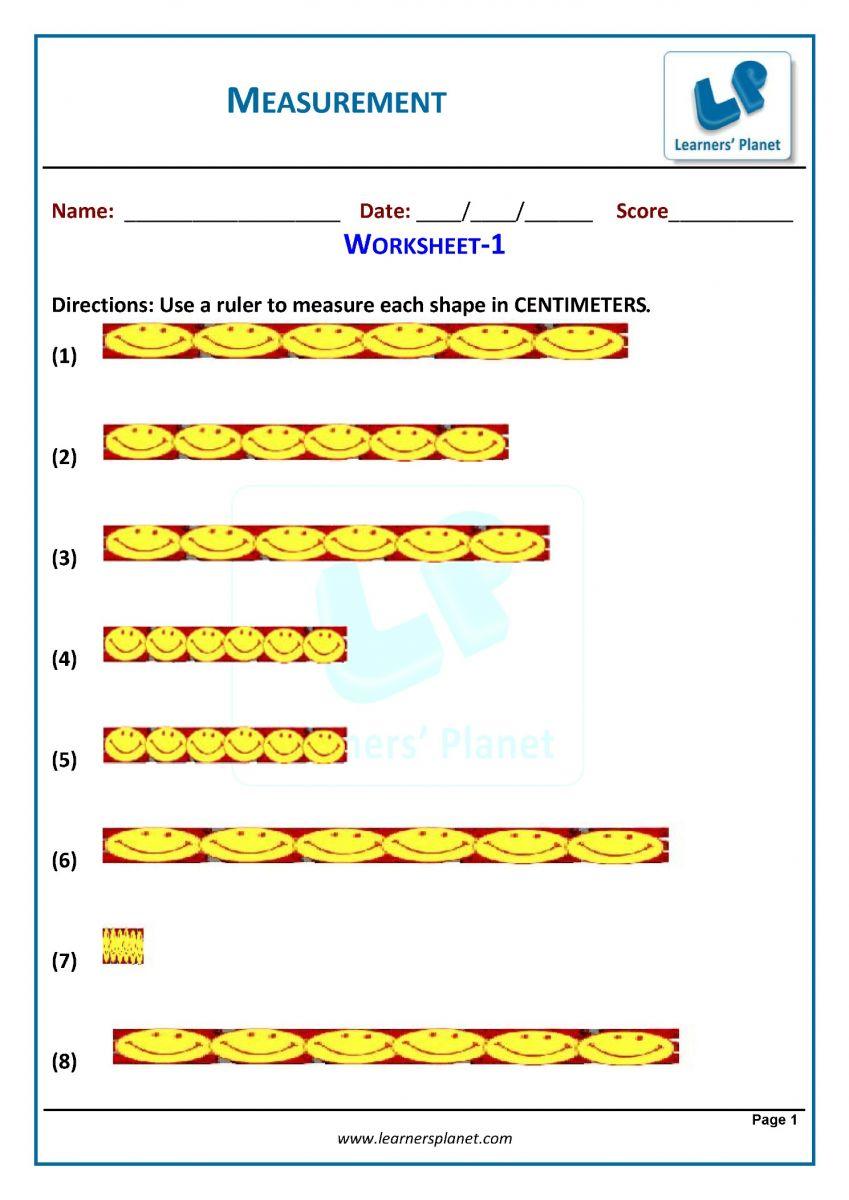 medium resolution of Grade 3 measurement worksheets for cbse maths