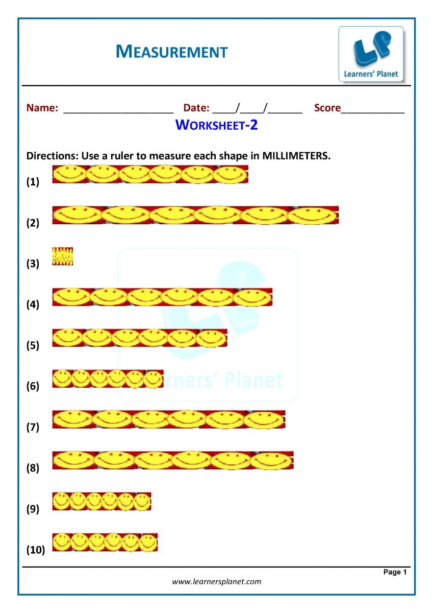 hight resolution of 3rd grade measurement worksheets download