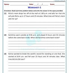 Math online grade three telling time worksheets [ 1200 x 849 Pixel ]