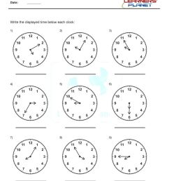 Math online grade three telling time worksheets [ 1200 x 849 Pixel ]