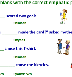 emphatic pronouns exercises with answers [ 712 x 1108 Pixel ]