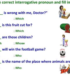 Interrogative pronouns-worksheet [ 777 x 1131 Pixel ]