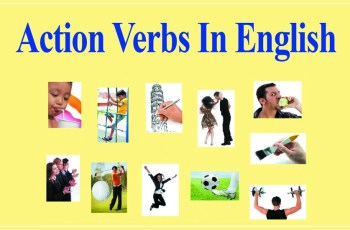 What Are Action Verbs in English