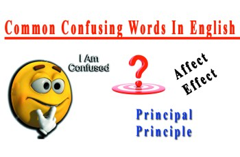Common Confusing Words in English