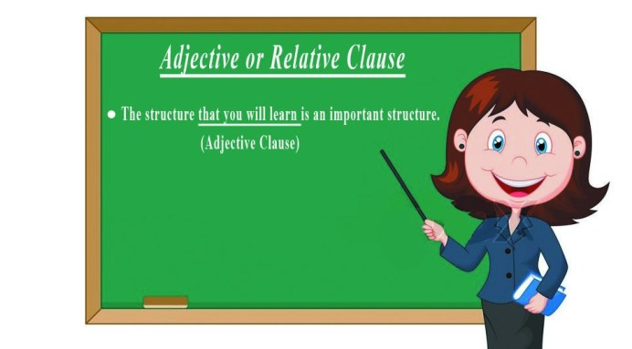Adjective Clause or Relative Clause