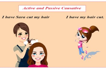 Active and Passive Causative