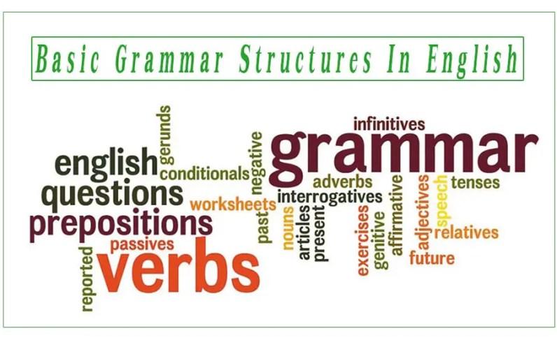 Basic Grammar Structures In English