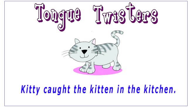 Tongue Twisters For ESL Learners