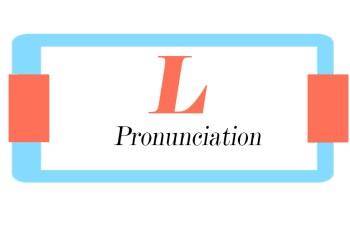 American L Pronunciation