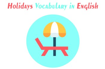 Holidays Vocabulary