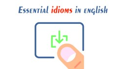 Important Idioms for English Learners