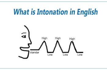 What is Intonation in English