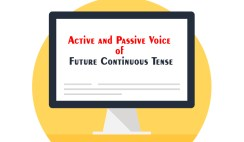 Active and Passive Voice of Future Continuous Tense