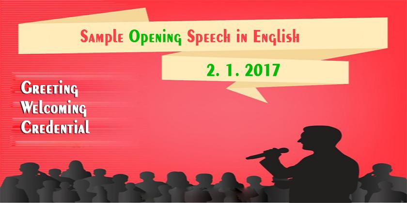 elocution speeches sample