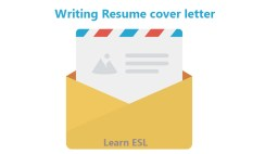 Writing Resume cover letter