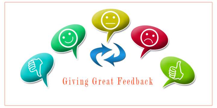 How to Give Great Feedback