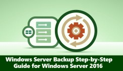 Windows Server Backup Step-by-Step Guide for Windows Server 2016