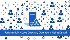 Perform Bulk Active Directory Operations Using Dsadd
