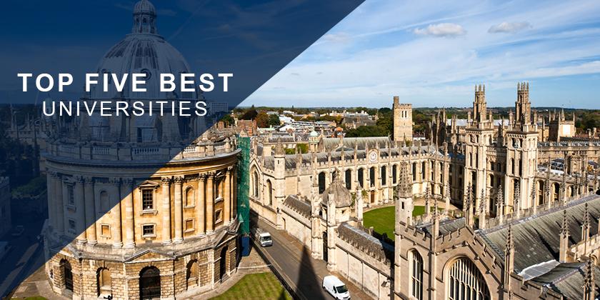 Top 5 Best Universities in the World 2018