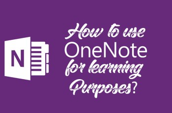 How to use Microsoft OneNote for Learning Purposes