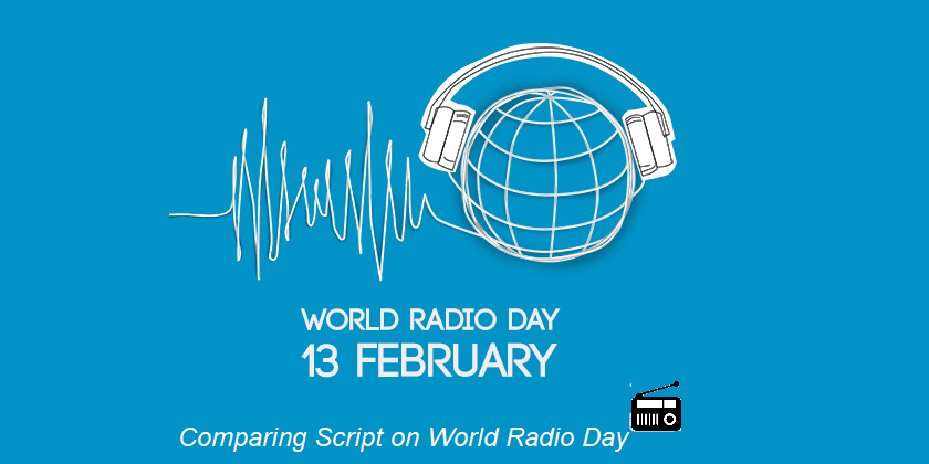 Comparing Script on World Radio Day-13 February