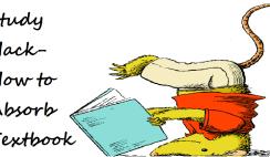 Study Hack-How to Absorb Textbooks Like a Sponge