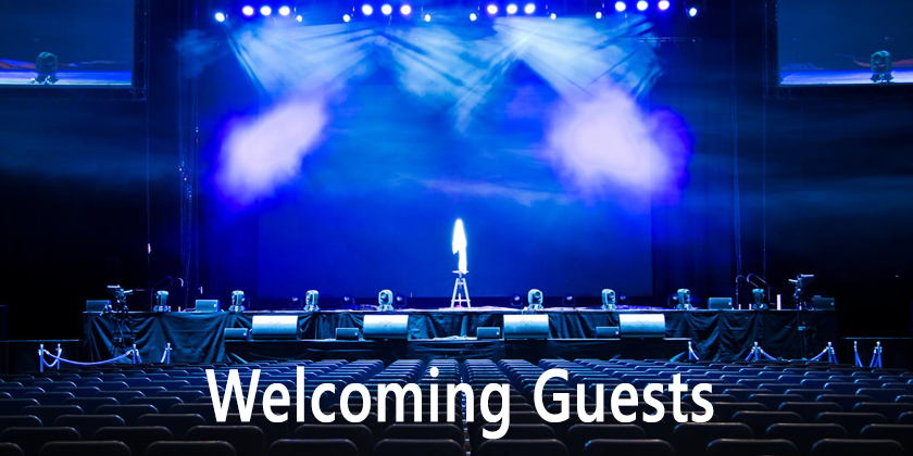 Anchoring Script for Welcoming Guests in the Function