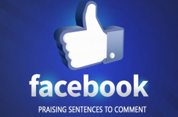 Best Praising Sentences for Comment on Facebook
