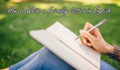 How to Write a Friendly Letter in English