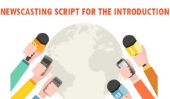 Newscasting Script for The Introduction