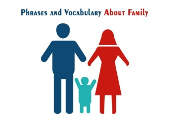 English Words Relating to Family