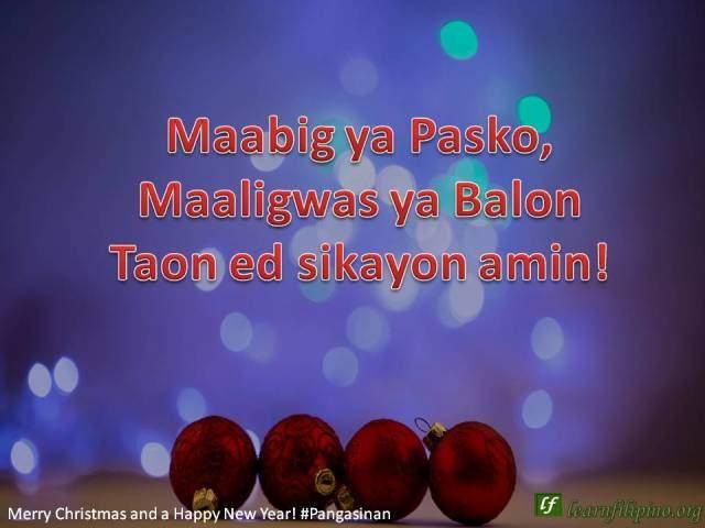 Happy New Year Ilocano