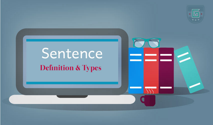 sentence definition types learn