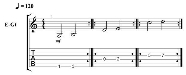 Beginner Guitar Scales 2